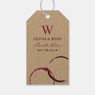 Wedding Wine | Personalised Favour Tags