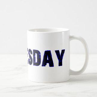 Wednesday Day of the Week Merchandise Coffee Mug