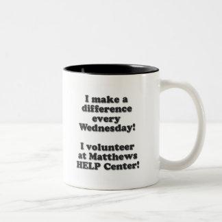 Wednesday Volunteer mug