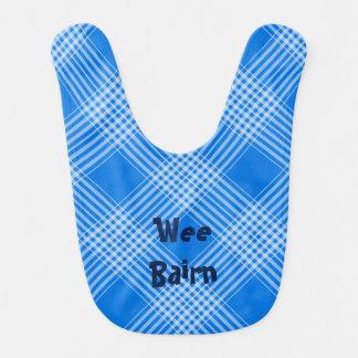 """Wee Bairn"" Scottish Tartan Bib"