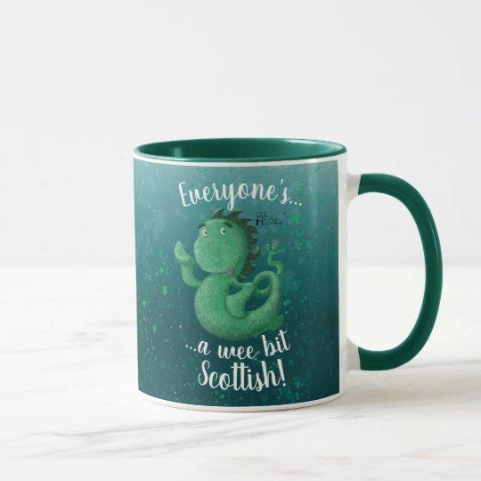 Wee Nessie, A Wee Bit Scottish! Mug