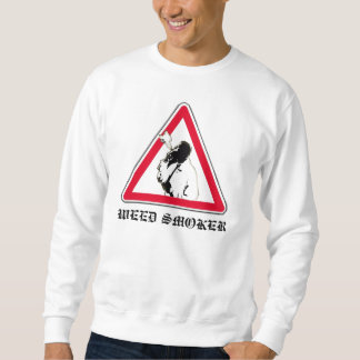 WEED SMOKER SWEATSHIRT