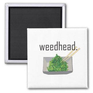 weedhead. (seaweed) magnet