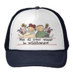 Weeds Be Wildflowers Mesh Hats