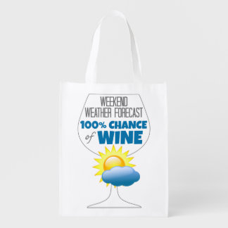 Weekend Weather Forecast Sunny 100% Chance of Wine