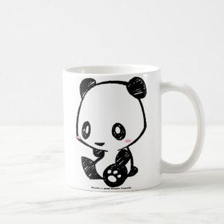 Weetle Panda Basic White Mug