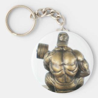 Weightlifting Key Ring