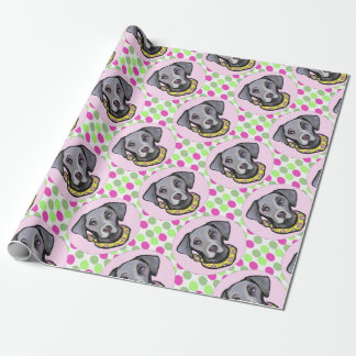 Weimarana Easter Wrapping Paper