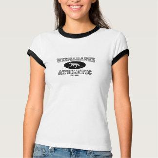 Weimaraner Athletic T-Shirt