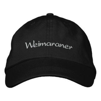 Weimaraner Dog Embroidered Baseball Cap