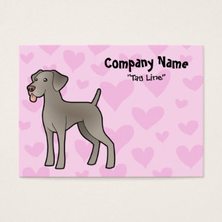 Weimaraner Love Business Card