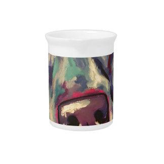 weimaraner pitcher