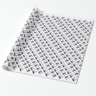 Weimaraner Trick Wrapping Paper