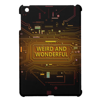 Weird and wonderful. case for the iPad mini