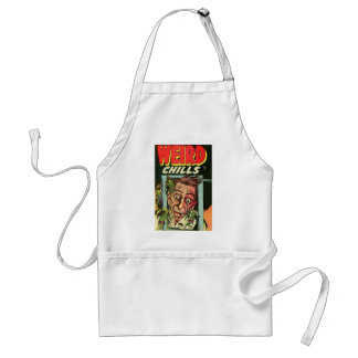 Weird Chills Comic book Standard Apron