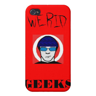 Weird Geeks iPhone Case iPhone 4 Cases