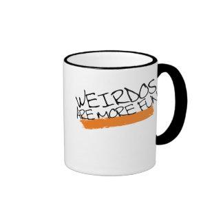 Weirdos are more fun mug