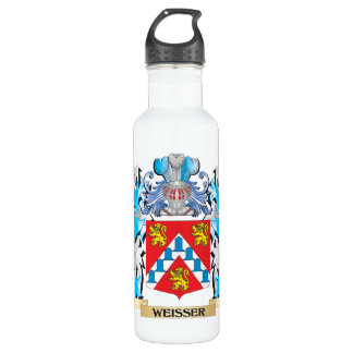 Weisser Coat of Arms - Family Crest 710 Ml Water Bottle