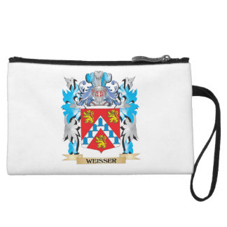 Weisser Coat of Arms - Family Crest Wristlet