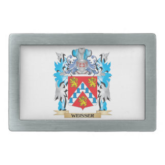Weisser Coat of Arms - Family Crest Rectangular Belt Buckle