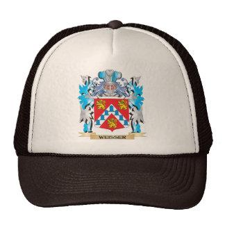 Weisser Coat of Arms - Family Crest Cap