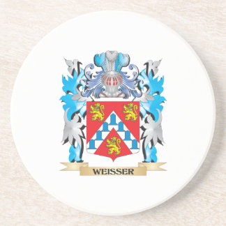 Weisser Coat of Arms - Family Crest Beverage Coasters