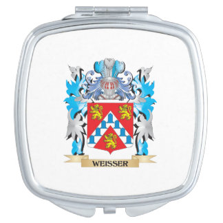 Weisser Coat of Arms - Family Crest Makeup Mirror