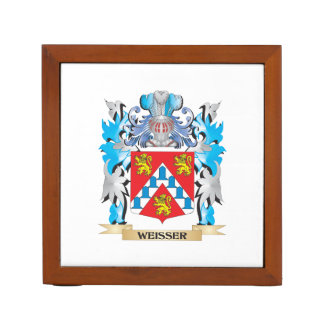Weisser Coat of Arms - Family Crest Desk Organisers