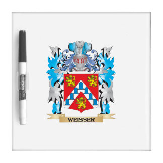Weisser Coat of Arms - Family Crest Dry-Erase Whiteboard