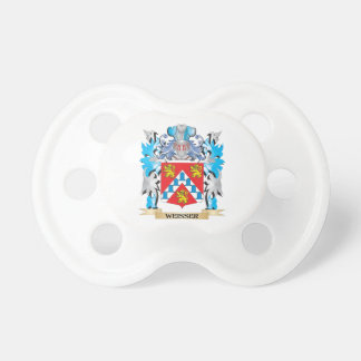Weisser Coat of Arms - Family Crest BooginHead Pacifier
