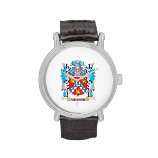 Weisser Coat of Arms - Family Crest Wrist Watches