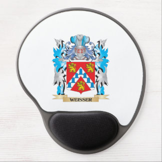Weisser Coat of Arms - Family Crest Gel Mouse Pad