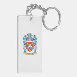 Weisser Coat of Arms - Family Crest Double-Sided Rectangular Acrylic Keychain