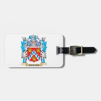 Weisser Coat of Arms - Family Crest Travel Bag Tags