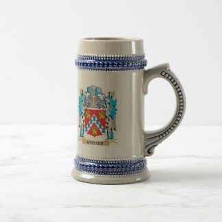 Weisser Coat of Arms - Family Crest Beer Steins