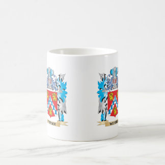 Weisser Coat of Arms - Family Crest Basic White Mug