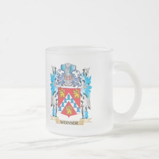 Weisser Coat of Arms - Family Crest Frosted Glass Mug