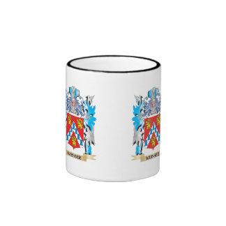 Weisser Coat of Arms - Family Crest Ringer Mug
