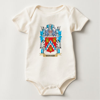 Weisser Coat of Arms - Family Crest Romper