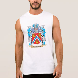 Weisser Coat of Arms - Family Crest Sleeveless T-shirts