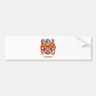 Weisser Family Crest (Coat of Arms) Car Bumper Sticker