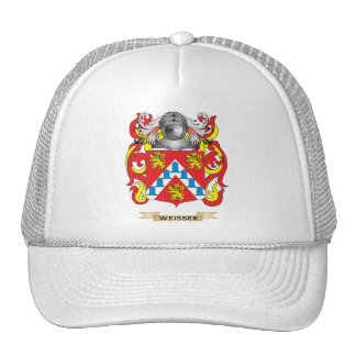 Weisser Family Crest (Coat of Arms) Hats