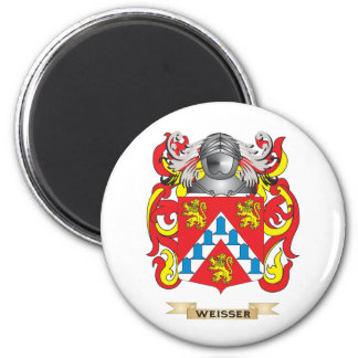 Weisser Family Crest (Coat of Arms) Magnets