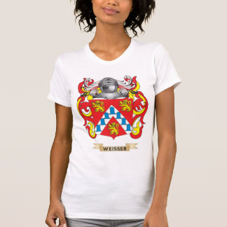 Weisser Family Crest (Coat of Arms) Tee Shirts