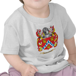 Weisser Family Crest (Coat of Arms) Shirts