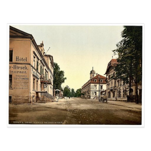 Weisser Hirsch, Saxony, Germany rare Photochrom Post Cards