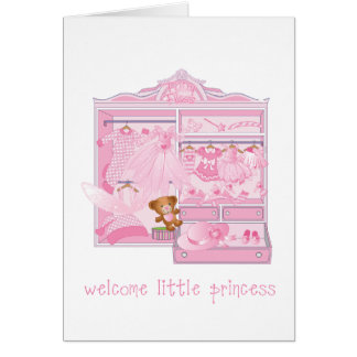 Welcome a little one, card with envelope