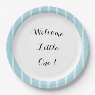 Welcome_ Baby Blue/w II_Full_TEMPLATE-revis Paper Plate