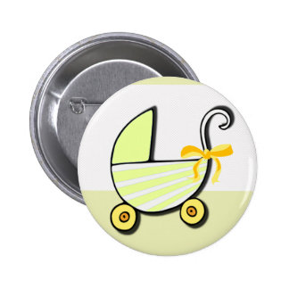 Welcome Baby or Baby Shower 6 Cm Round Badge
