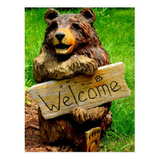 Welcome Bear Moving Announcements Postcard